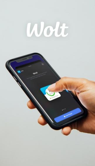 Wolt – iOS widget
